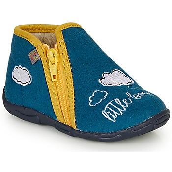 Schuhe Jungen Hausschuhe GBB OUBIRO Blau / Gelb