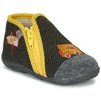 Schuhe Jungen Hausschuhe GBB OUBIRO Schwarz / Grau