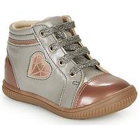 Schuhe Mädchen Sneaker High GBB OTANA Grau / Rose