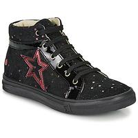 Schuhe Mädchen Sneaker High GBB NAVETTE Schwarz