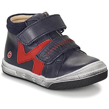 Schuhe Jungen Sneaker High GBB OGROU Blau / Rot