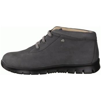 Schuhe Damen Boots Finn Comfort Schnuerschuhe Leon street/BearNubuk 2854-480382 grau