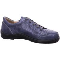 Schuhe Damen Sneaker Low Finn Comfort Schnuerschuhe Soho 2743622241 blau