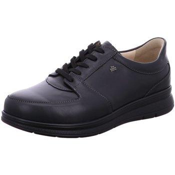 Schuhe Herren Sneaker Low Finn Comfort Schnuerschuhe Royan 03750627424 schwarz