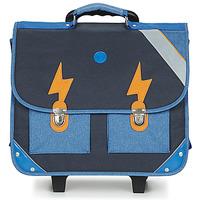 Taschen Jungen Schultaschen / Schulranzen mit Rollen GBB FANOU Blau