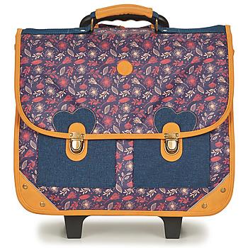 Taschen Kinder Schultaschen / Schulranzen mit Rollen GBB FANOU Blau