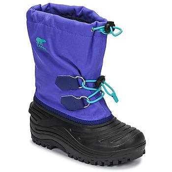 Schuhe Kinder Schneestiefel Sorel YOUTH SUPER TROOPER™ Blau