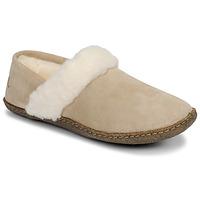 Schuhe Damen Hausschuhe Sorel NAKISKA SLIPPER II Beige