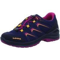 Schuhe Mädchen Sneaker Low Lowa Schnuerschuhe MADDOX GTX® LO JUNIOR 340121/6918 blau