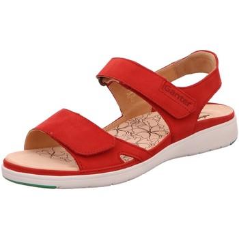 Schuhe Damen Sandalen / Sandaletten Ganter Sandaletten Gina 7-200122-4000 9-200122-4000 rot