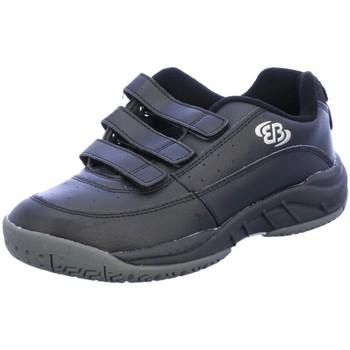Schuhe Herren Sneaker Low Brütting Slipper NOS/RACKET V 121007 schwarz
