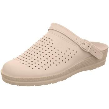 Schuhe Damen Pantoletten / Clogs Rohde Pantoletten Komfort Clog diverse Böden Neustadt-D 1442 weiß
