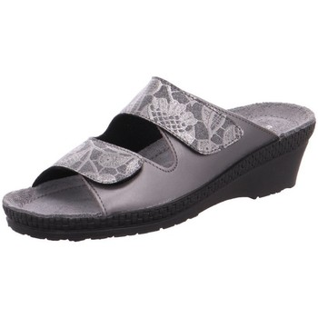 Schuhe Damen Pantoffel Rohde Pantoletten 1466/82 grau