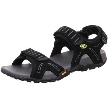 Schuhe Herren Sandalen / Sandaletten Brütting Offene 401005 schwarz