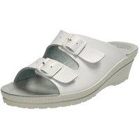 Schuhe Damen Pantoffel Rohde Pantoletten NEUSTADT-50 1463-00 weiß