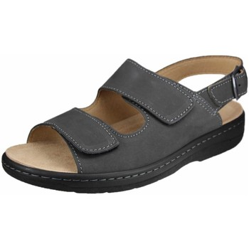 Schuhe Damen Sandalen / Sandaletten Portina Sandaletten anthrazit 22.129 grau