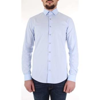 Kleidung Herren Langärmelige Hemden Calvin Klein Jeans K10K103170 Celeste