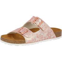 Schuhe Damen Pantoffel Lico Bioline platino rosa