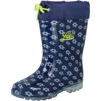 Schuhe Mädchen Gummistiefel Lico Power Blinky blau