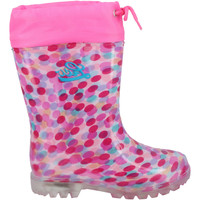 Schuhe Mädchen Gummistiefel Lico Power Blinky rosa