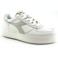 Schuhe Damen Sneaker Low Diadora DIA-E19-C7904-PWC Bianco