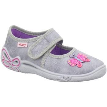 Schuhe Mädchen Hausschuhe Legero 8-00288-06 grau
