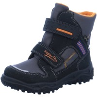 Schuhe Jungen Schneestiefel Superfit Klettstiefel Allwetterklettstiefel 044-03 grau