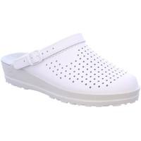 Schuhe Damen Pantoletten / Clogs Beck Pantoletten Marie 7003/01 weiß