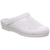Schuhe Damen Pantoletten / Clogs Rohde Pantoletten Komfort Clog 1445 00 weiß