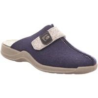 Schuhe Damen Hausschuhe Rohde 2315/56 blau