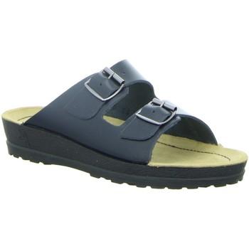 Schuhe Damen Pantoffel Beck Pantoletten 7000/05 blau