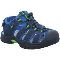 Schuhe Jungen Sportliche Sandalen Brütting Trekkingsandalen NIMBO 470111 blau