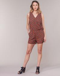 Kleidung Damen Overalls / Latzhosen Moony Mood KETTELLE Rot / Multicolor