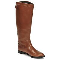 Schuhe Damen Klassische Stiefel Jonak BATURINGI Cognac
