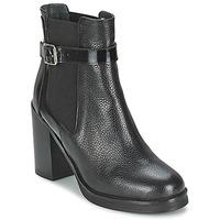 Schuhe Damen Low Boots Jonak DELFIM Schwarz