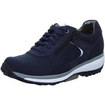 Schuhe Herren Sneaker Low Xsensible Schnuerschuhe Jersey 30042.2.220 blau