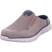 Schuhe Herren Slip on Pep Step BM Footwear grau