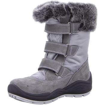 Schuhe Mädchen Schneestiefel Imac Klettstiefel 3073336-2 3073336-2 2 grau