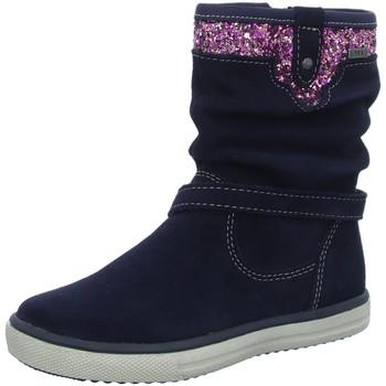 Schuhe Mädchen Klassische Stiefel Lurchi By Salamander Stiefel Cinti-Tex-A,atlantic 33-30310-82 blau