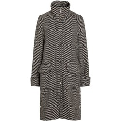 Kleidung Damen Mäntel Anastasia Damen Winter Tweed Coat Black