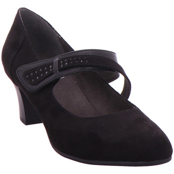 Schuhe Damen Pumps Jana Woms Slip-on BLACK