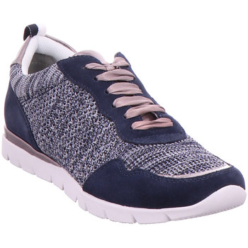 Schuhe Damen Sneaker Low Sneaker Woms Lace-up NAVY COMB
