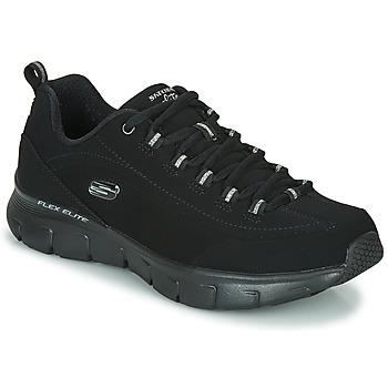 Schuhe Damen Sneaker Low Skechers SYNERGY 3.0 Schwarz