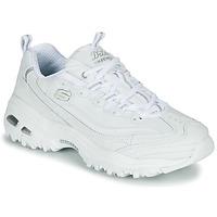 Schuhe Damen Sneaker Low Skechers D'LITES Weiss