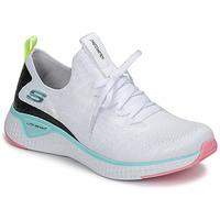 Schuhe Damen Fitness / Training Skechers FLEX APPEAL 3.0 Weiss / Rose / Blau