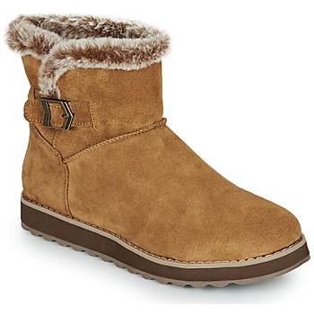 Schuhe Damen Boots Skechers KEEPSAKES 2.0 Braun