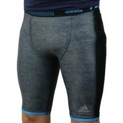 Kleidung Herren Leggings adidas Originals Techfit Chill Short Tights Grau
