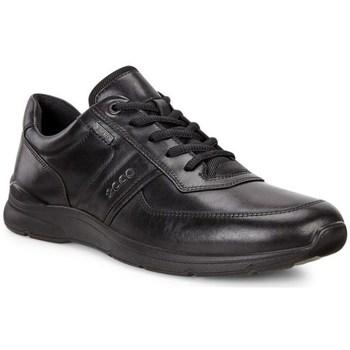 Schuhe Herren Sneaker Low Ecco Irving Schwarz