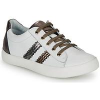 Schuhe Mädchen Sneaker Low GBB MAPLUE Weiss