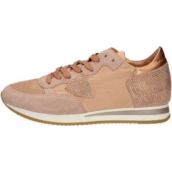 Schuhe Damen Sneaker Low Philippe Model Paris TRLDSD11 ROSA